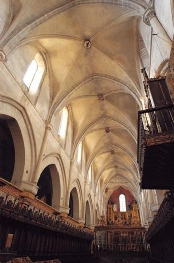Stock Photo: 4029R-84398 Spain, Castilla leon, Burgos, City, Town, Art, Monastery