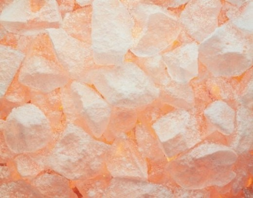 Stock Photo: 4029R-87221 Mass of stones in pink