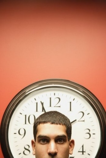 Controlled by time : Stock Photo