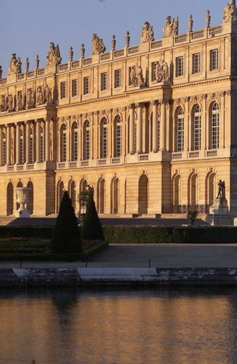 Stock Photo: 4029R-91528 Chateau de Versailles, France
