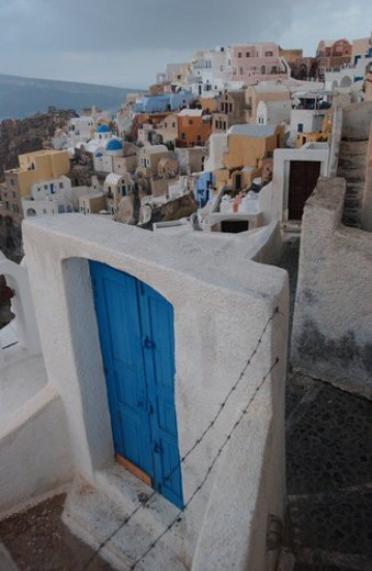 Greek Island of Santorini : Stock Photo