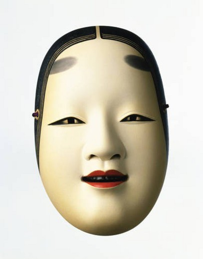 Stock Photo: 4029R-99862 Noh mask
