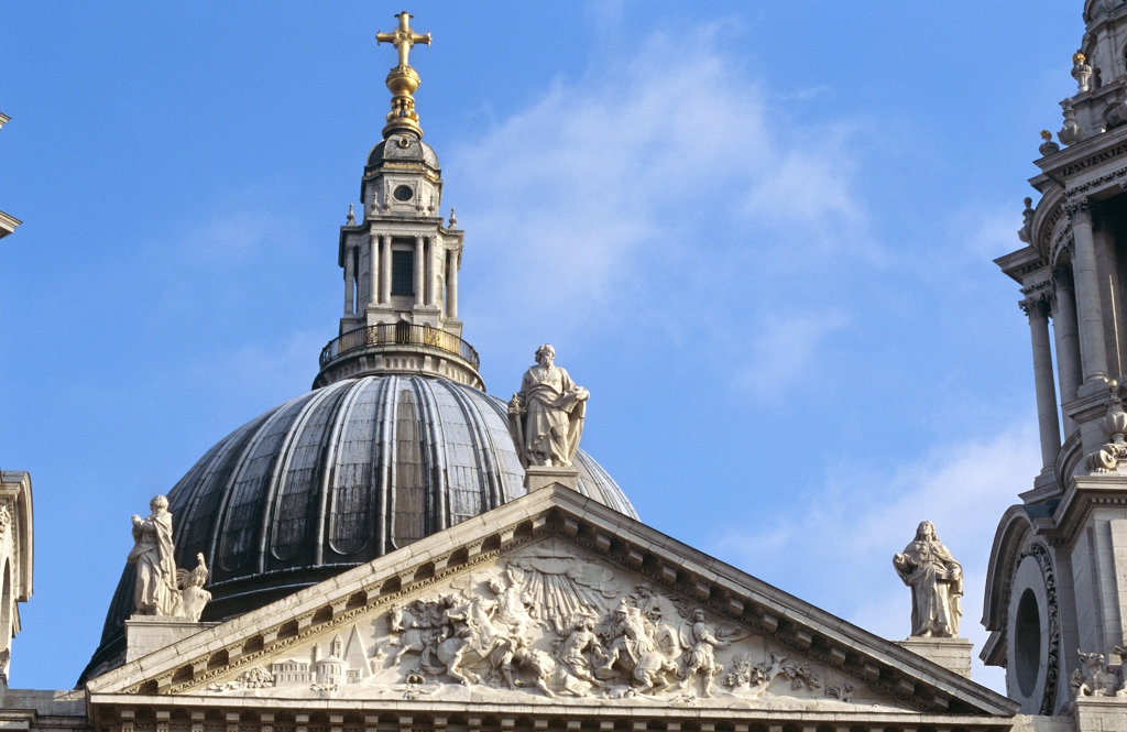 Stock Photo: 4030-2082 St Paul's Cathedral, London, United Kingdom
