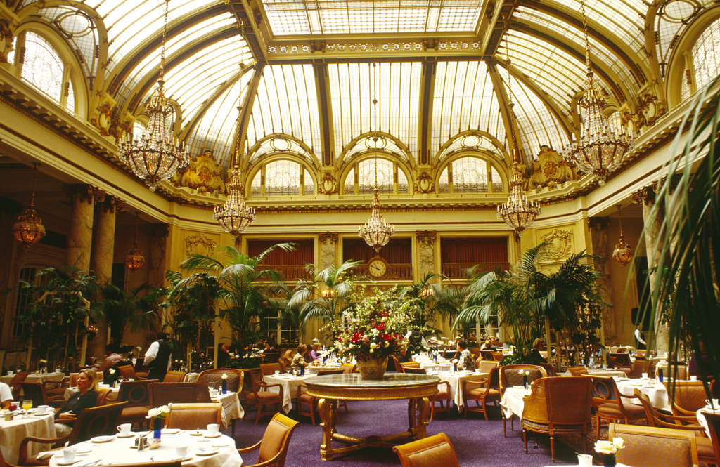 Garden Court, Palace Hotel, San Francisco : Stock Photo