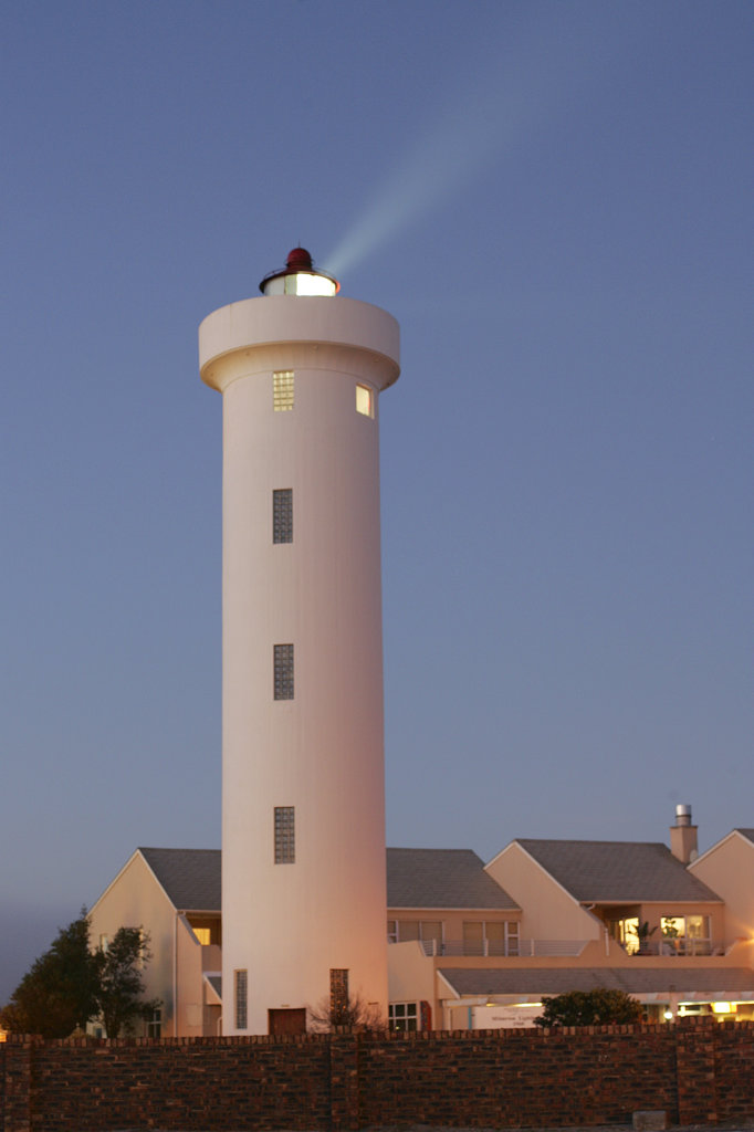 Milnerton Lighthouse, Cape Town, West Coast, South Africa : Stock Photo