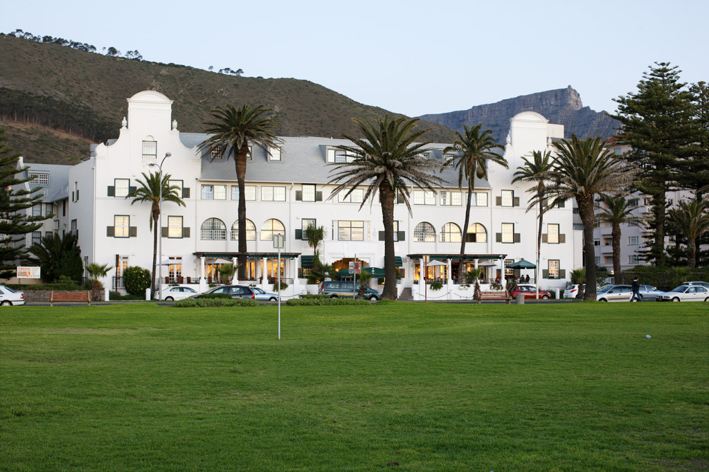 Stock Photo: 4030-3545 Winchester Manions Hotel, Well known, Privately Owned 4-Star, Sea Point, Cape Town, South Africa