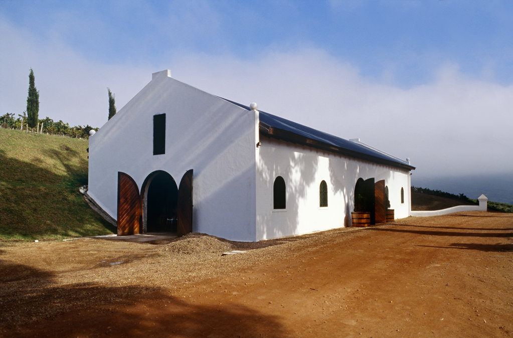 Hamilton Russel Wine Estate, Hemel & Aarde Valley, Hermanus, Western Cape : Stock Photo