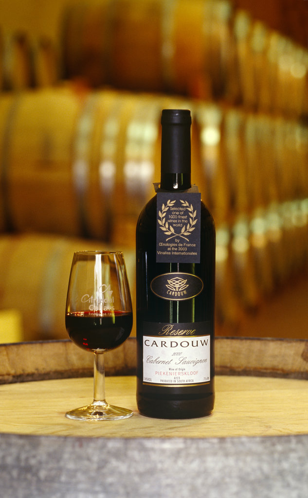 Stock Photo: 4030-3872 Cardouw Wine, Piekernierskloof, Western Cape
