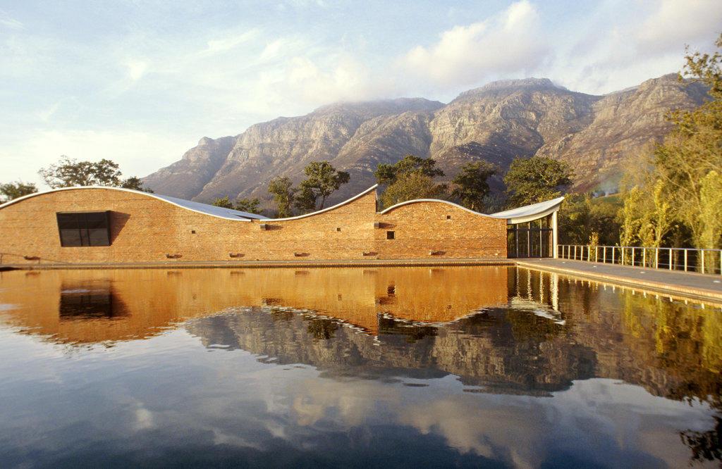 Stock Photo: 4030-4061 Dornier Wine Estate, Stellenbosch, Western Cape