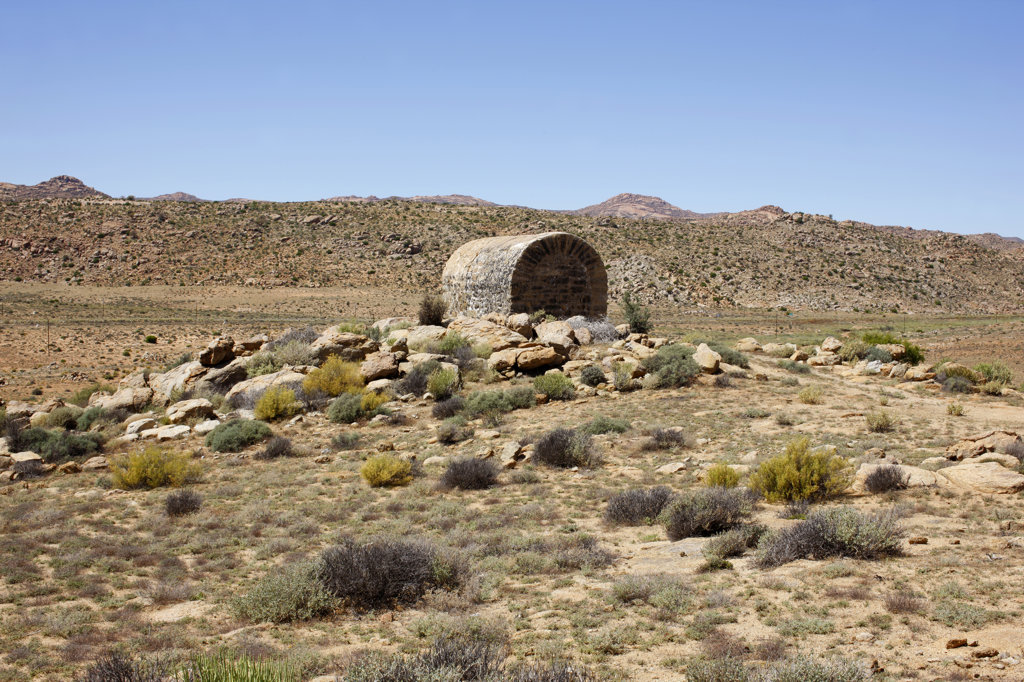 Historical Boer War Relic, Namaqualand, South Africa : Stock Photo