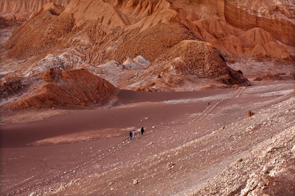 Valley of the Moon, Atacama Desert : Stock Photo
