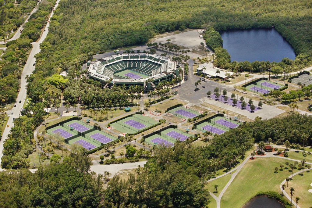 Tennis Center at Crandon Park, Miami : Stock Photo
