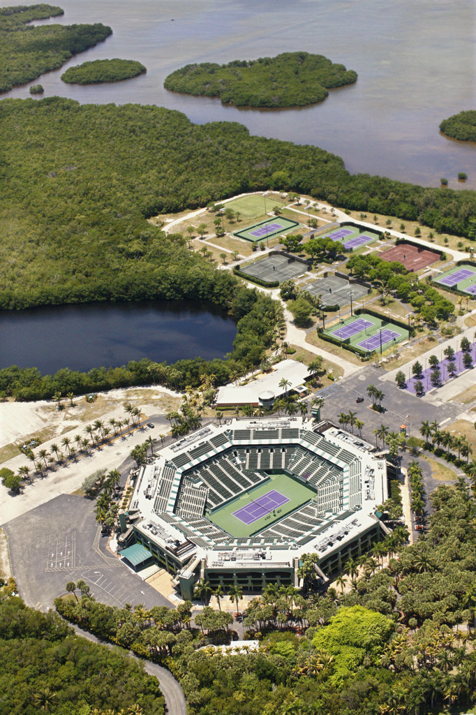 Tennis Center at Crandon Park, Miami : Stock Photo