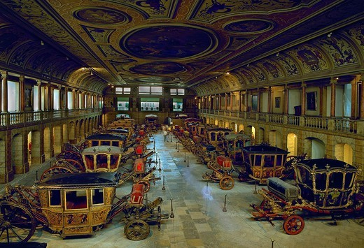 Coaches Museum, Lisbon, Portugal : Stock Photo