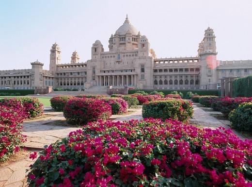 Stock Photo: 4034-10233 Umaid palace Jodhpur India