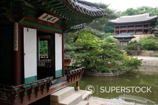 Stock Photo: 4034-105910 Changdeokgung, Biwon, Seoul, South Korea, Asia, World Heritage