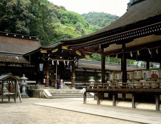 Matsuo Taisha Shrine, Kyoto, Kyoto, Japan : Stock Photo