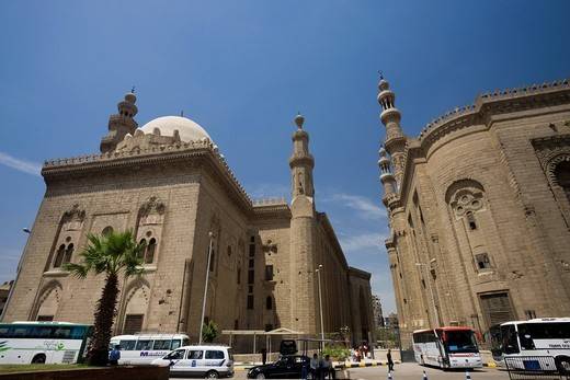 Sultan hassan mosque, Cairo, Historic Site, Egypt, World Heritage, Africa : Stock Photo
