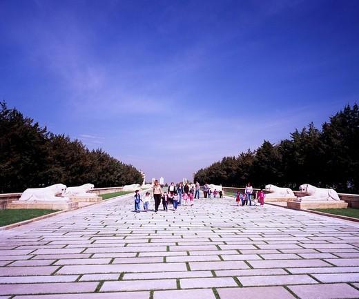 Mausoleum of Ataturk, Ankara, Turkey : Stock Photo