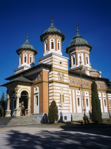 Sinaia monastery Sinaia Rumania : Stock Photo