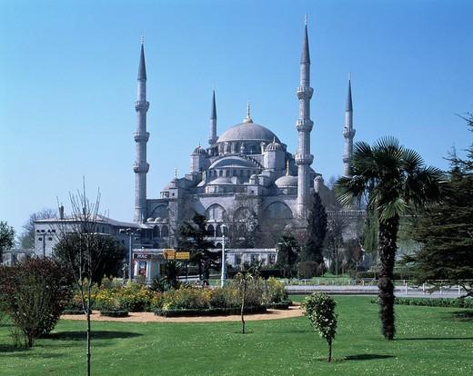 Blue Mosque, Istanbul, Turkey, World Heritage : Stock Photo