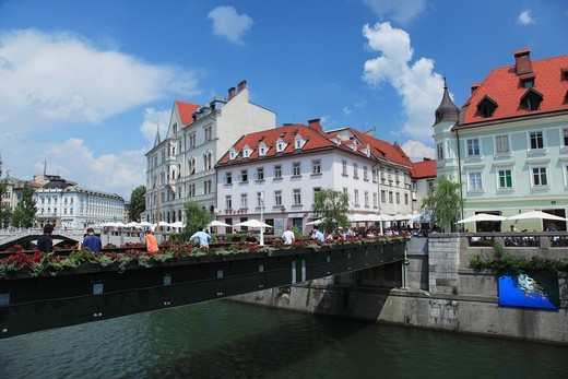 Old city, Rubrichanitsa river, Rubryarna, slovene, Europe : Stock Photo