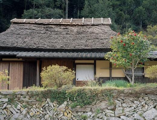 Private house, Uchiko, Ehime, Shikoku, Japan : Stock Photo