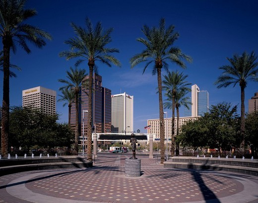 Phoenix Downtown United States of America : Stock Photo