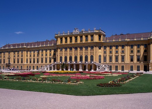 Schloss Schonbrunn Vienna Austria World Heritage : Stock Photo