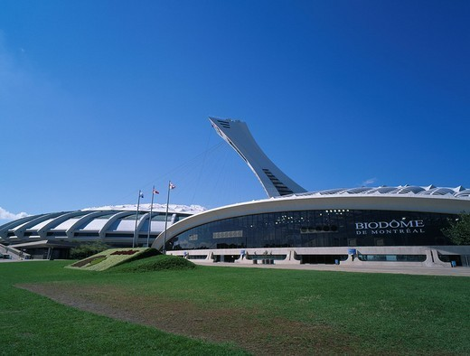 Stock Photo: 4034-16499 Olympic Games park Montreal Canada
