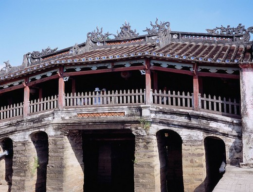 Cau Lai Vien, Biridge, Nihonbashi, Hoi an, Vietnam : Stock Photo