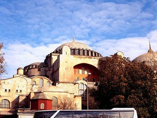 Hagia Sophia, Istanbul, Turkey, World Heritage : Stock Photo