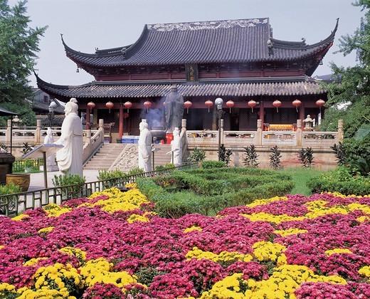 Mausoleum of Fuzi, Nanjing, Jiangsu Province, China : Stock Photo