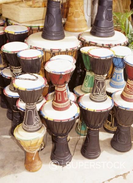 Drums, Antananariv, Madagascar : Stock Photo