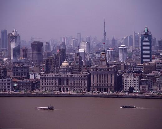 Wai Tan, Shanghai, China : Stock Photo