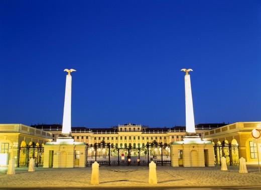 Stock Photo: 4034-22402 The Shane Brune palace, Vienna, Austria