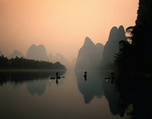 Guilin, China Guangxi, China : Stock Photo