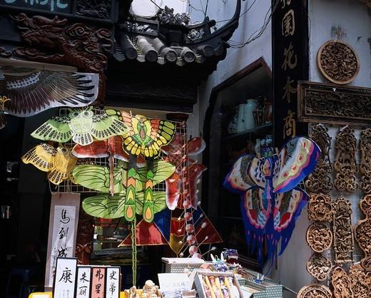 Stock Photo: 4034-2920 Shanghai Laojie, Folkcraft, Shanghai, China