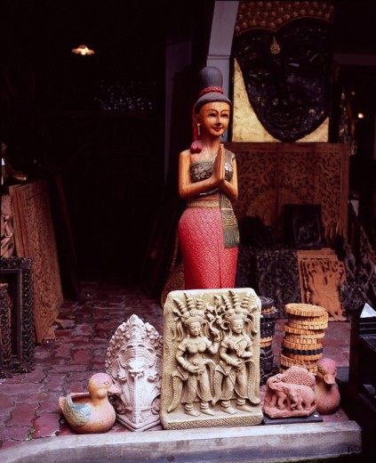 Statue of Buddha, Bangkok, Thailand : Stock Photo