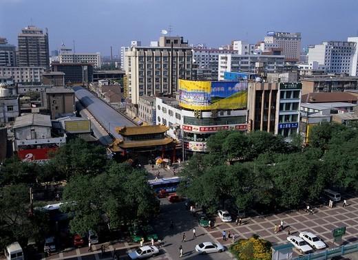 Stock Photo: 4034-34170 Xi´an Town, Xi´an, Shaanxi, China