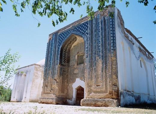 Tuglctimul mausoleum Yining suburbs, Xinjiang, Uygur Autonomous Region, China, Asia : Stock Photo