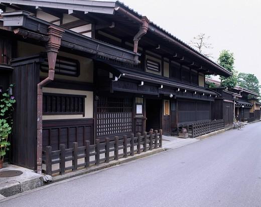 Kusakabe folkcraft museum Takayama Gifu Japan Building Japanese_styled house Famous place Building : Stock Photo