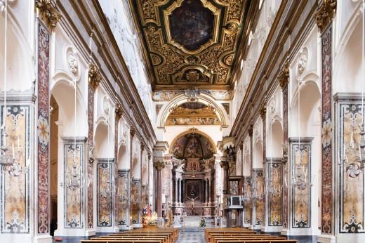 Duomo, Altar, Amarfitana, Italy : Stock Photo