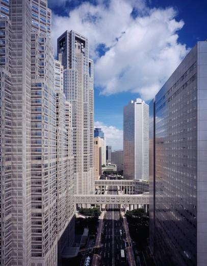 Tokyo agency, Shinjuku Ward, Tokyo, Kanto, Japan : Stock Photo