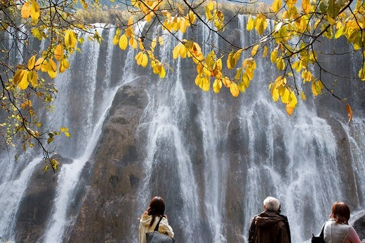 Stock Photo: 4034-40665 Jiuzhaigou Valley Scenic, Sichuan, China