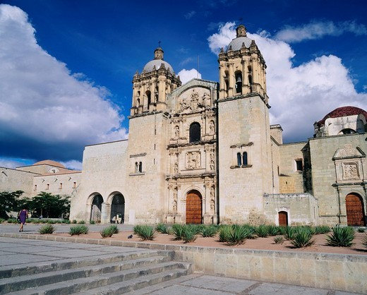 San Domingo church, Oaxaca, Mexico : Stock Photo