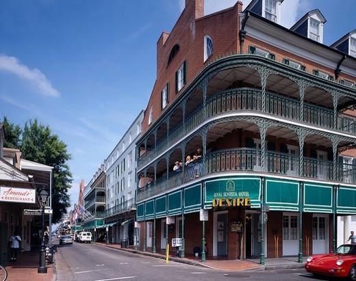 bourbon street royal sonesta hotel new orleans road. Black Bedroom Furniture Sets. Home Design Ideas