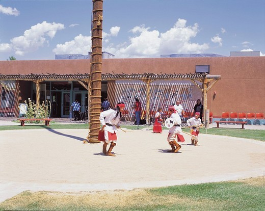 Pueblo Indian Cultural Center, Albuquerque, New Mexico, United States of America : Stock Photo