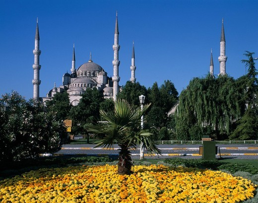 Blue Mosque, Istanbul, Turkey, World Heritage : Stock Photo
