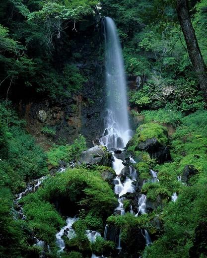 1000_piece waterfall Karuizawa Nagano Japan : Stock Photo